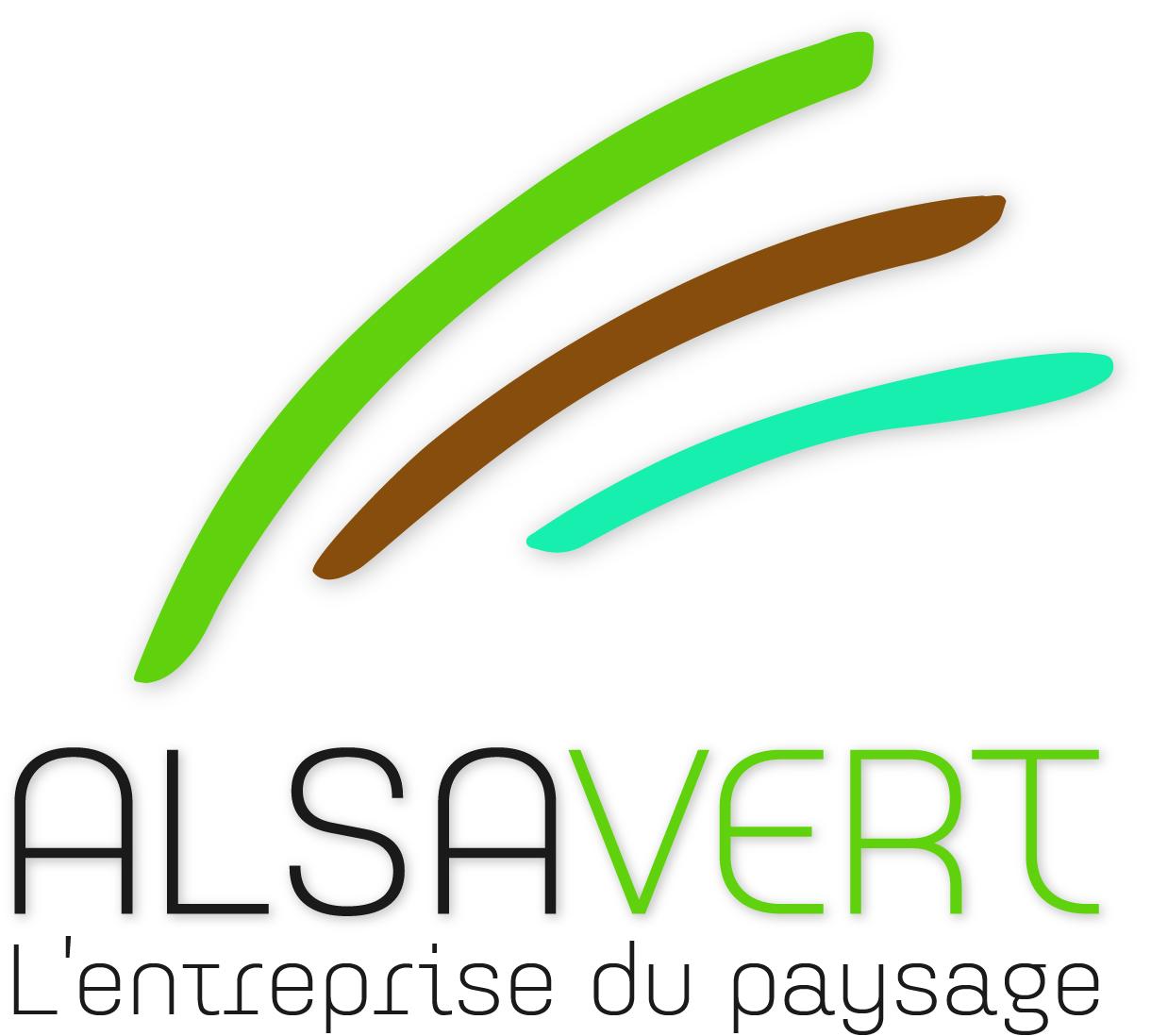 Logo paysagiste ALSAVERT