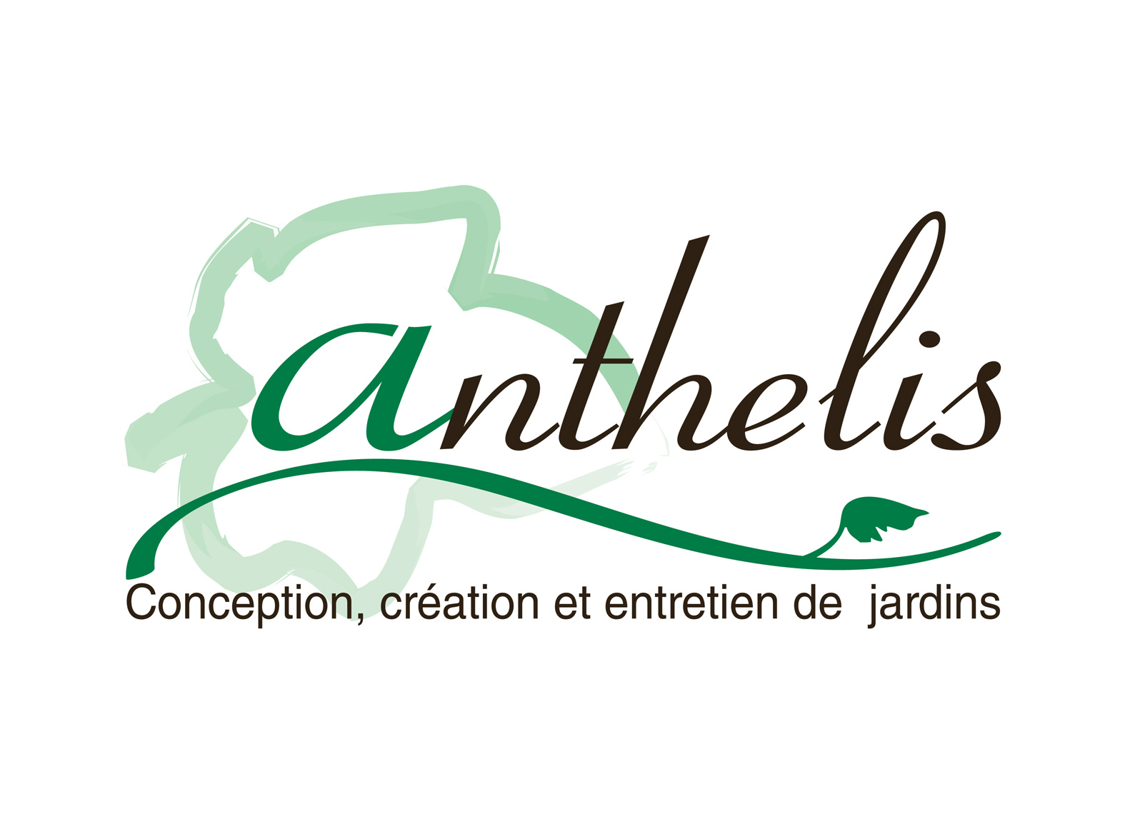Logo paysagiste ANTHELIS